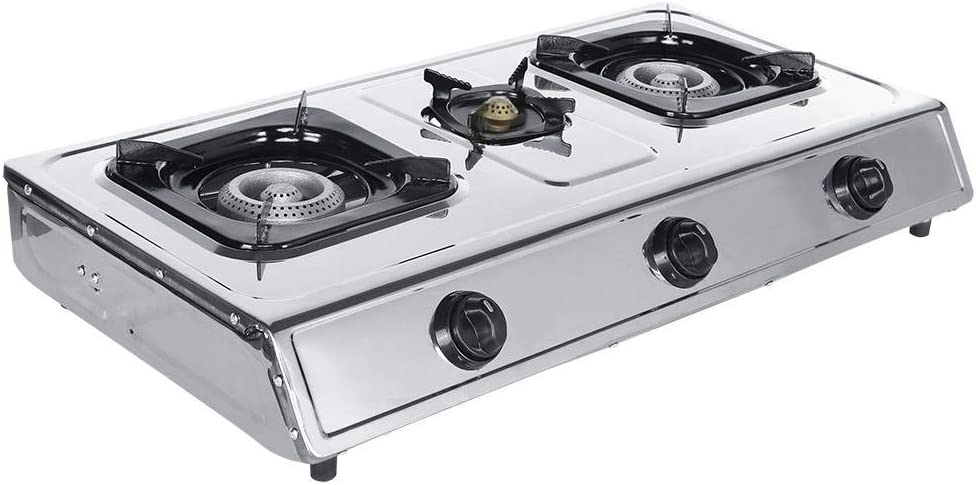 Stainless Gas Stove 3 S Burner Steel 1Pc Max 52% OFF Popular product