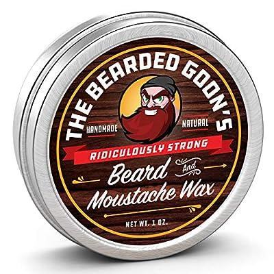 The Bearded Goon's Ridiculously Strong Beard and Moustache Wax-1oz (30ml)