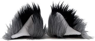 Pawstar Clip In Furry Fox Yip Ears Hair Clips On