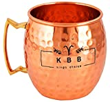 KBB Copper Mug Hammered Design (Classic, Pack of 1)