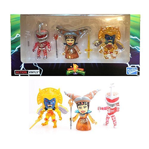 The Loyal Subjects Power Rangers Mighty Morphin Crystal Villain Exclusive Action Figures