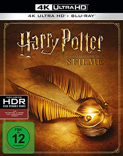 Harry Potter: The Complete Collection (8 4K Ultra HDs) (+ 8 Blu-rays 2D) [Alemania] [Blu-ray]