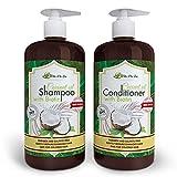 Vita A to Zee Coconut Oil Shampoo & Conditioner with...