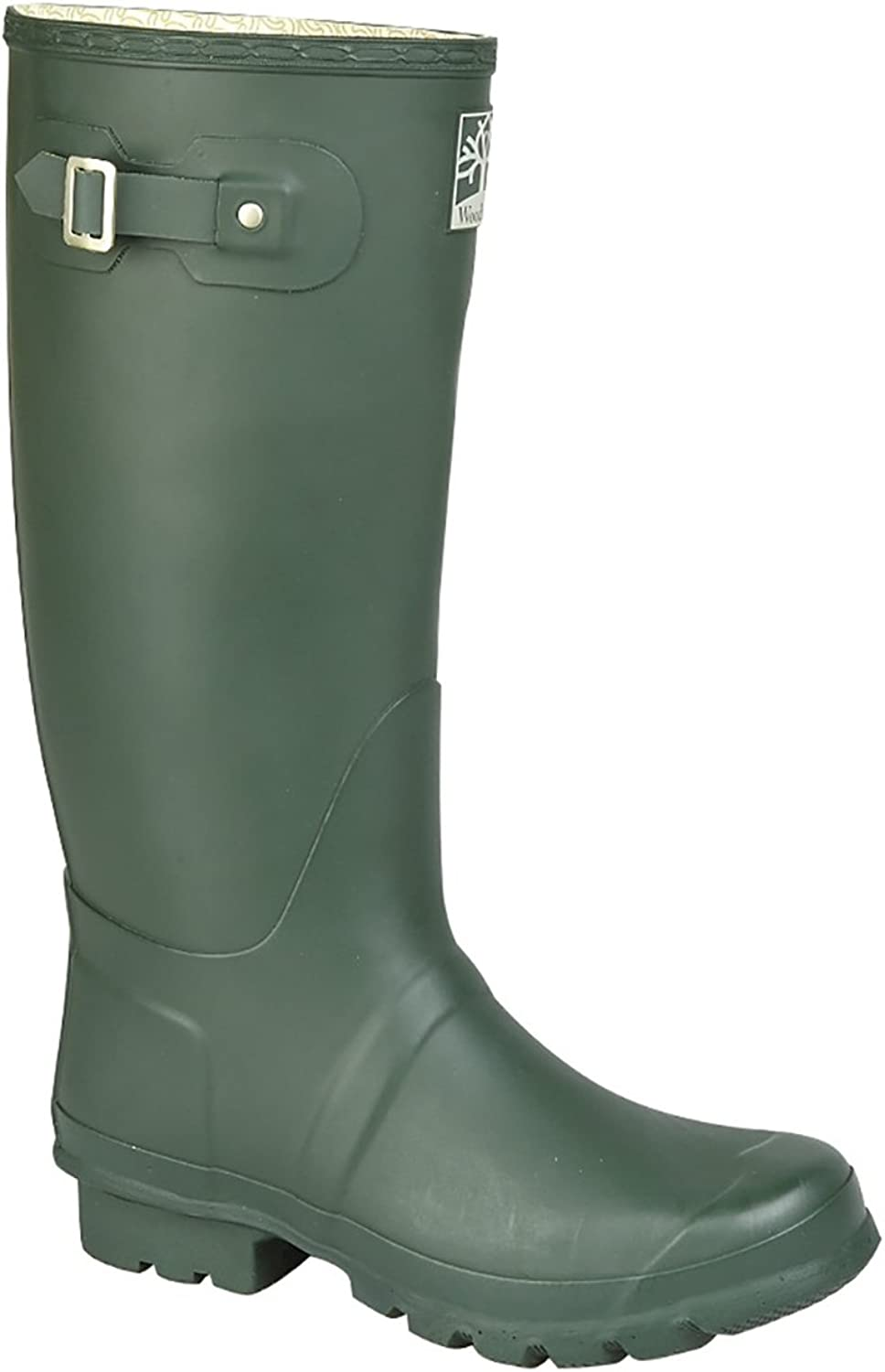 Mens New 'WIDE FIT' Quality Strap Unisex Wellington Boots Rain Winter Geblackus Comfort Fit