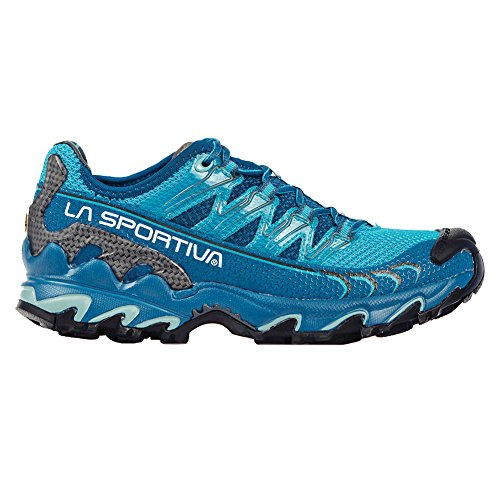 La Sportiva Ultra Raptor Women's Mountain Trail Running Shoe, Fjord/Malibu Blue, 39