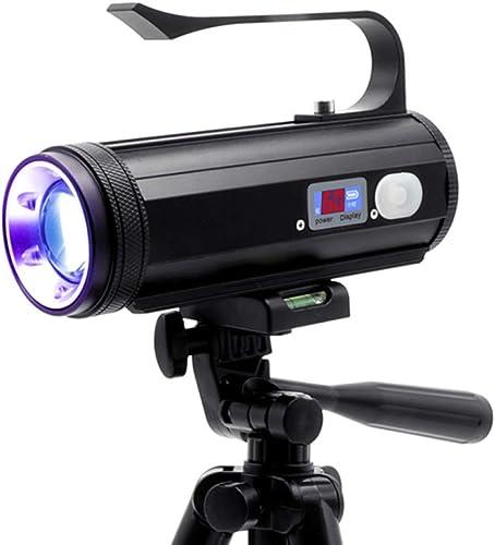 STHfficial 4 Couleur Pêche Lumière LED Lampe De Poche Torche portable Puissante Lampe De Pêche USB Rechargeable Projecteur Ultraviolet UV Lampe De Poche