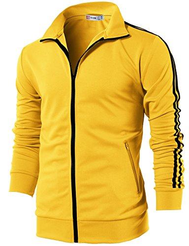 Yellow Men Jacket