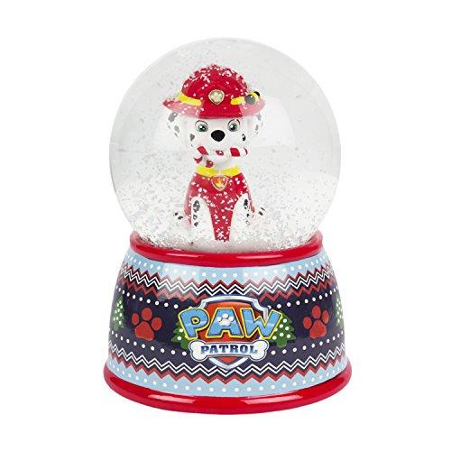 Paw Patrol Nickelodeon Marshall Christmas Snow Globe Coin Bank