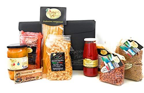 Baúl los esenciales Nono Mario Navidad 2020 alimentarios artesanales, fabricado en Italia