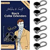 Black Metal Collar Extenders by Johnson & Smith –...