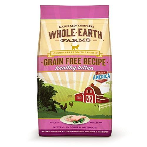 Alimento seco sin grano Healthy Kitten para gatos de Whole Earth Farms