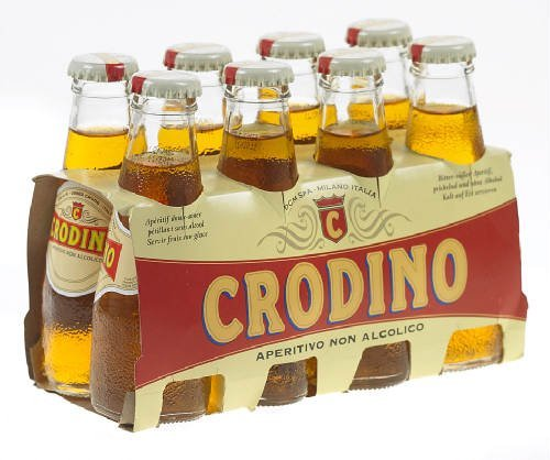 Crodino alkoholfreier Aperitif 8 x 9,8 cl - Original Italien