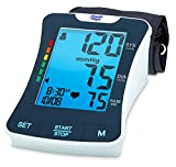 Physio Logic LuminA Automatic Blood Pressure Monitor with Universal Arm Cuff, Blue