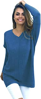Gillberry Women's Casual Long Sleeve Jumper Sweaters Coat Blouse Tops Shirt For