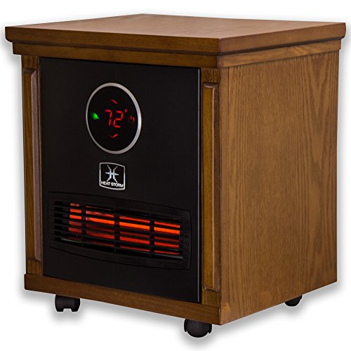 Heat Storm Classic Smithfield Portable Infrared Space Heater heaters Space