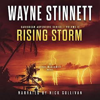 Rising Storm: A Jesse McDermitt Novel audiobook cover art