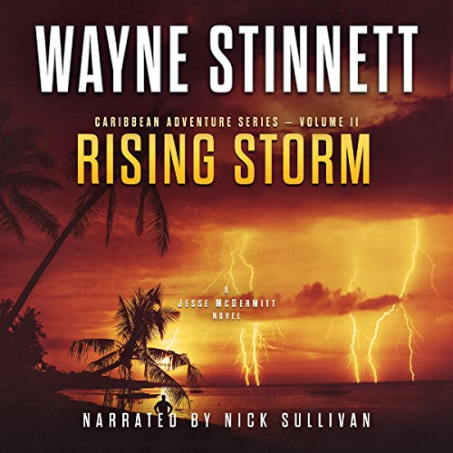 Rising Storm: A Jesse McDermitt Novel audiobook cover art