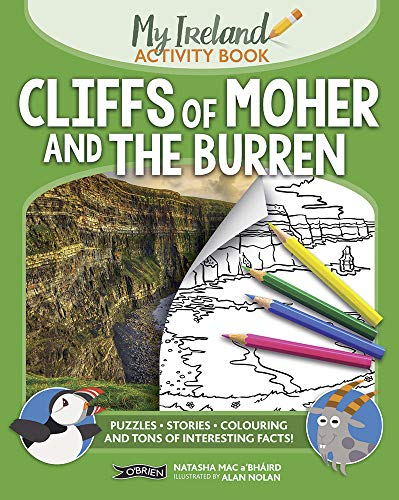 Cliffs of Moher and the Burren: My Ireland Activity Book