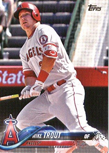 2018 Topps #300 Mike Trout Baseball Card Angels MLB Baseball Trading Card