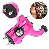 Máquina de tatuaje, aleación profesional Rotary Strong Motor Gun Liner Shader Clip Cord Coloring Forro Body Art Tool(Rojo)