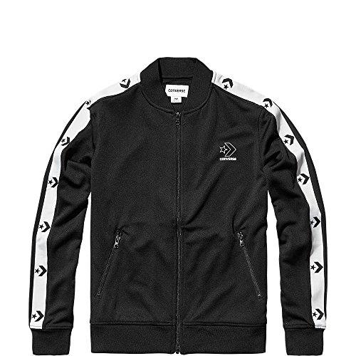 Converse Star Chevrolet Track Jacket – Giacca da donna, colore: nero