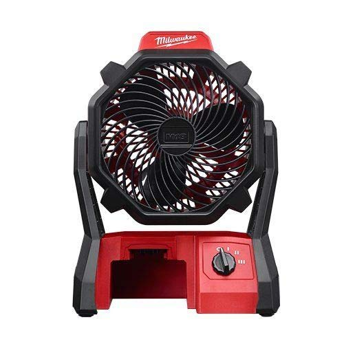 Milwaukee 0886-20 M18 18V Cordless Jobsite Fan (Bare Tool)