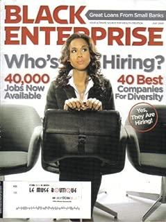 BLACK ENTERPRISE MAGAZINE (July 2009 - Vol. 39/ No. 12) Featuring: WHO'S HIRING?