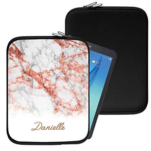Personalisiert Marmor Neopren Tablethülle Case Tasche (83) für Huawei Honor T1 7.0 (7