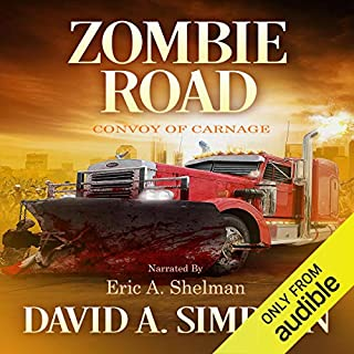 Zombie Road audiobook cover art