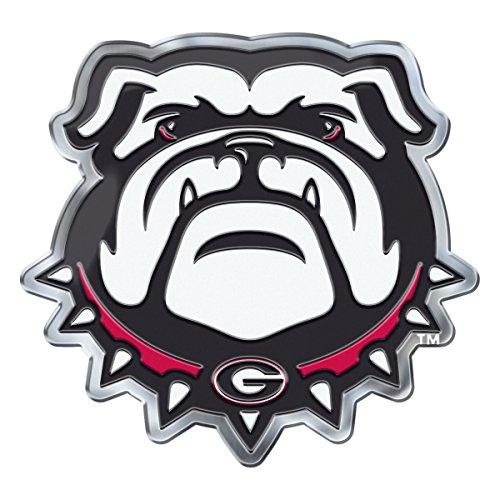 georgia bulldog car emblem - 1