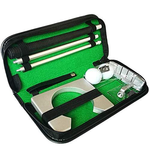 Juego De Putter De Golf, Puede Mejorar La Precisión De Los Tiros, Adecuado Para Matar El Tiempo, Practicar En Interiores, Mejorar Las Habilidades De Golf, Ampliamente Utilizado En Oficinas, Casas