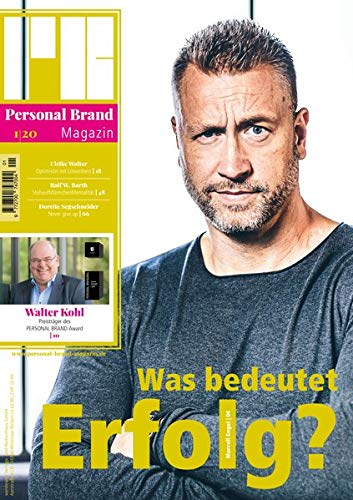 Personal Brand Magazin: Ausgabe 01/20