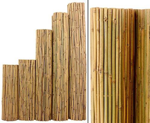 Bambus Matte Bali, extrem stabil, 200 x 300 cm, mit Draht durchbohrt und verbunden von Bambus-Discount