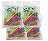 Martini Golf Tees Assorted 5-Pack (4 Count)
