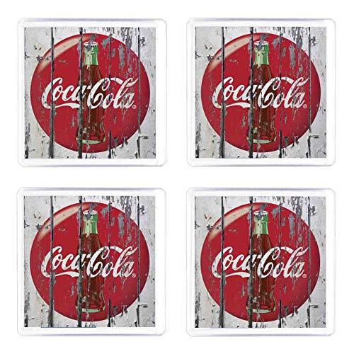 Set di 4 Sottobicchieri Coca Cola vintage