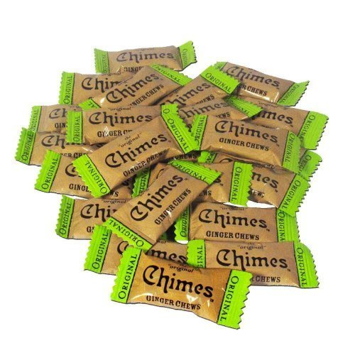 Chimes Original Ginger Chews, 1-pound box
