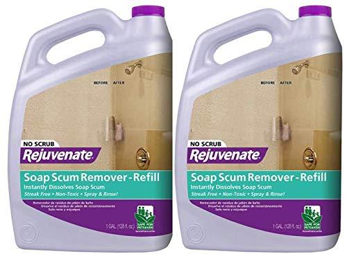 Rejuvenate 128 oz. Soap Scum Remover (2-Pack)