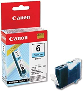 Canon BCI6PC OEM Ink Tank: Photo Cyan Yields 280 Pages