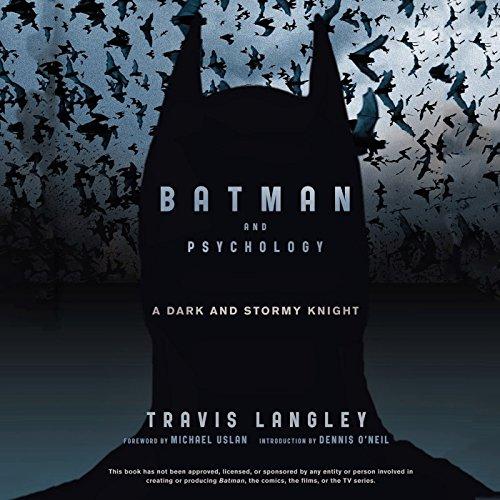 Batman and Psychology audiobook cover art