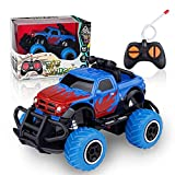 Toys for 3 4 5 6 7 Year Old Boys, Remote Control Car Toys for Kids RC Trucks Toy for Boys Age 3 4 5 6, 1/43 Scale RC Car Toys for 3-7 Year Old Kids, Toddler Toys Birthday Gift for 3-5 Year Old Boys