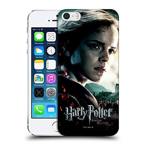 Head Case Designs - Cover rigida per Apple iPhone 5, iPhone 5s, iPhone SE 2016, motivo: Hermione Granger