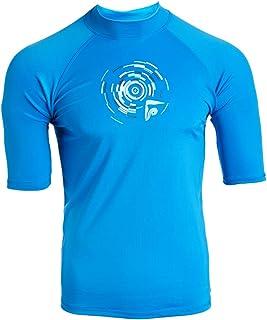 قميص Kanu Surf رجالي هورايزن بعامل حماية من أشعة الشمس 50+ للحماية من أشعة الشمس قميص راش جارد