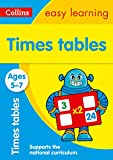 Times Tables Ages 5-7 (Collins Easy Learning)