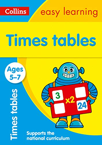 Times Tables Ages 5-7: Prepare for school with easy home learning