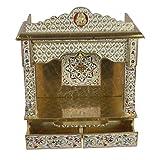 Desi Bazar Meenakari Wooden Pooja Mandir for...