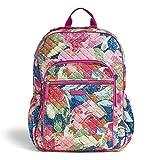 Vera Bradley Women's Signature Cotton Campus Backpack, Superbloom, One Size