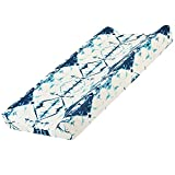 Baby Floral Diaper Changing Pad Cover Cradle Mattress Sheets, Infant Stretchy Fabric Changing Table Cover Changing Mat Cover Baby Nursery Diaper Changing Pad Sheets 32''X 16'' (Indian Lange)