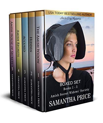 Amish Cozy Mysteries Boxed Set: Books 1 - 5 Amish Secret Widows' Society (Amish Widow Mysteries Boxed Set)