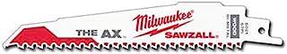 Milwaukee 48-00-5021 Super Sawzall Blade, 0W, 0V