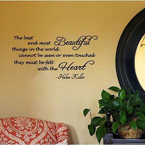 The Best and Most Beautiful ThingsFeutre avec cœur